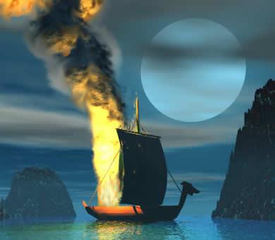 schwabs-obits-viking-funeral-illust